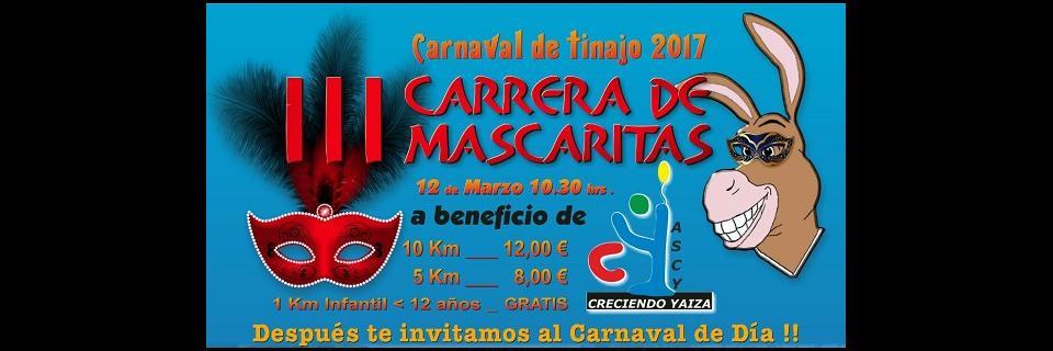 carrera, mascaritas, tinajo, 2017, tizziri, carnaval